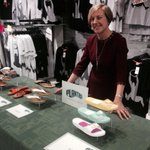 Sarah from @plantasshoesuk generously donating profits from sales to #grassroots sports in #Nottingham http://t.co/bvlBHEODmm