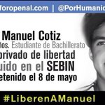 RT @360UCV: #16S Manuel Cotiz y Cristian Gil compañeros de Sairam Rivas, seguirán detenidos durante su juicio #360UCV http://t.co/vmmnCzP5EA