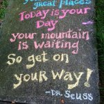 RT @mississaugalife: Gouda morning Mississauga! Here is todays inspiring quote from Dr. Seuss! http://t.co/4Dr0Wd8DZO
