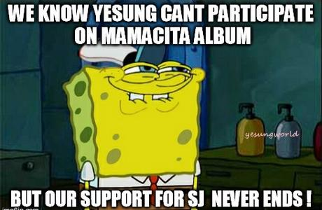 Our support for Yesung & the boys will never ends ! #superjunior #yesung #mamacita #yesungworld http://t.co/hSZWAa0K1c