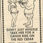 RT @MSUArchives: #TBT MSU Canoe rental ad from the July 1969 issue of @thesnews #MSUHistory http://t.co/w4r6k4wLtc