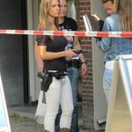 Twitter / @g1: Foto de policial holandes ...