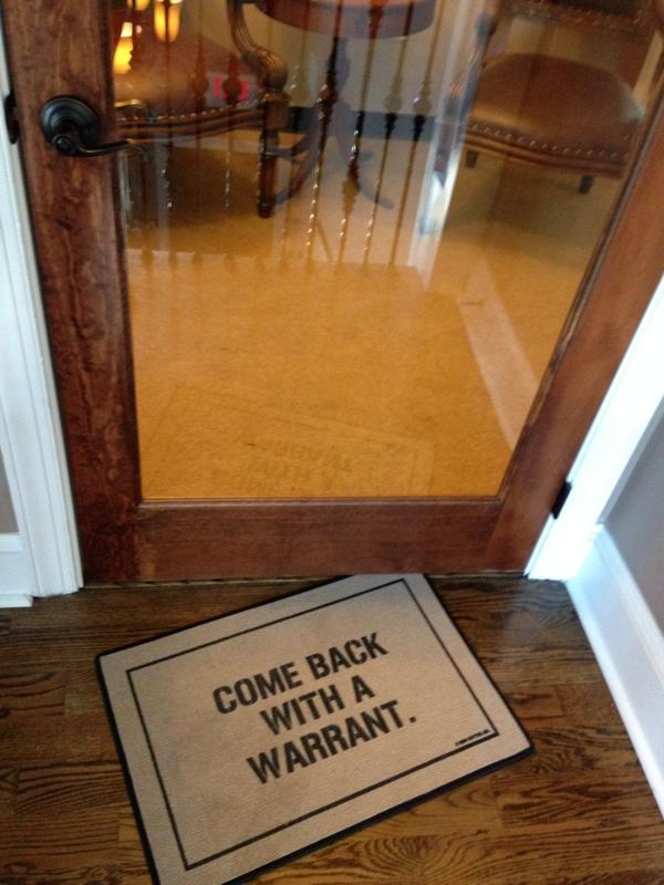 This is the welcome mat at @duckduckgo http://t.co/eeOyJIFowv