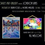 RT @SarahFosseArt: Will be showing #London #paintings in gallery space @StGeorgesTrust from tomorrow at joint exhibition with @miketv67 http://t.co/YkG0EEpTki