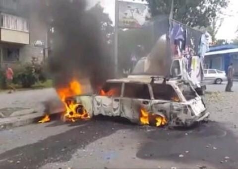 This is what #Donetsk 's (my home-city) #EU intergration into the #EU looks like.   #Ukraine #WarCrimes http://t.co/fElz28kzOa