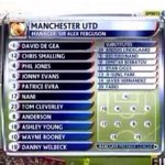 RT @Futbol_Agent_: On this day, exactly 3 years ago, Manchester United beat Arsenal 8-2 with this team. Sir Alex Ferguson is a genius. http://t.co/L0J7lK4RNR