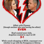 RT @MADmagazine: MAD's Cause-of-Divorce Betting Odds: Brad Pitt and Angelina Jolie http://t.co/Us27X7wDJ3 http://t.co/Ela6ehdNpn