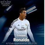 "RT @LuisOmarTapia: ""Superfly"" CR7 mejor de Europa 2013-14 http://t.co/5RqlimSSrN"