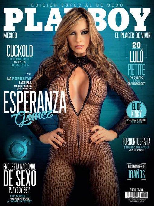 RT @__Dark_Knight__: Esperanza Gomez @esperanzaxxx covergirl Playboy Mexico September 2014 http://t.