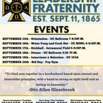 Recruitment is right around the corner and here are some of the events Eta Tau has planned for those going through! http://t.co/jYfCa3KVKU