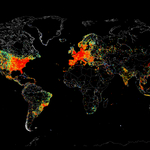 Pinged all devices on the Internet, heres a map of where theyre located :) http://t.co/G3fiNcKCul