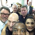 "RT @BuzzFeed: The ""Star Trek: The Next Generation"" Cast Have Taken The Ultimate Reunion Selfie http://t.co/ghfwWc9x1D http://t.co/gGfonA47hb"