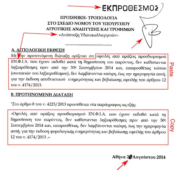 Η ποιότητα της νομοθέτησης στην Ελλάδα σε μια εικόνα. http://t.co/rnIRNGwAAE