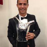 #UEFAbestplayer of Europe. What a joy to win this trophy that I want to share with all of you. Thank you. http://t.co/HYbr9lEg70
