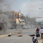 Reportan fuertes protestas en Carora, este #28A. Vía .@ATodoMomento_ http://t.co/BdkkxH2rxv