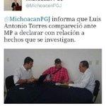 """RT @amadornarcia: La Procuraduría de #Michoacán dio a conocer la comparecencia de Luis Antonio Torres """"El americano"""" ante el M.P. http://t.co/SYBxq42XYT"""