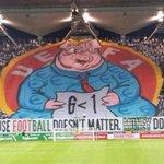 RT @footyawayday: Legia Warsaw display tonight http://t.co/gQrPnp4cYX