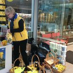 Say hi to the street collectors for Daffodil day and give what u can http://t.co/Dtu4fSKm5q