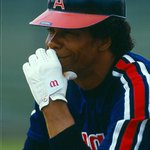 #TBT Rod Carew sporting the 1972-1988 #Angels A. Youll be donning our old logo too at Vintage Shirt Night tomorrow! http://t.co/NjivYfwRu8