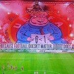 RT @GeniusFootball: Legia Warsaws message to UEFA . . http://t.co/ibizxge63i