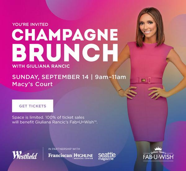 Fab-U-Wish and @WestfieldSC are hosing a #ChampagneBrunch with @GiulianaRancic on 9/14, Save the Date! http://t.co/5M91ZzbgAn