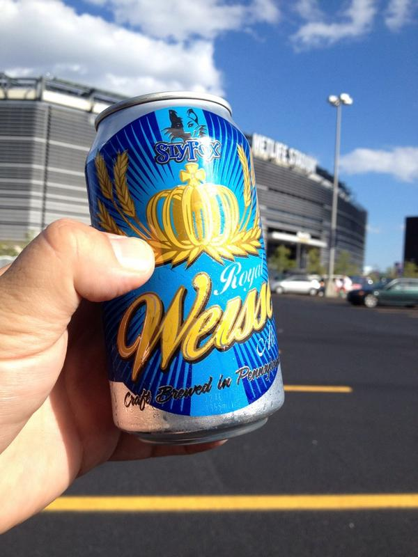Tailgating @Patriots with @RICHDIGI enjoying @SlyFoxBeer weisse http://t.co/1HQtxvWTYj