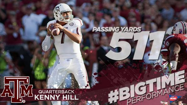 Kenny Hill... Welcome to @AggieFootball! #ncaaFB http://t.co/FgpLHv1zXn