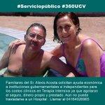 RT @360UCV: #28A Familia Acosta agotó todos sus recursos económicos y seguro para cubrir Terapia Intensiva piden ayuda #360UCV http://t.co/meCWWbkDCT