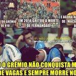 """Relembrem ai a """"Torcida"""" do Grêmio, hj não foi a primeira vez... #FechadoComOAranha http://t.co/vMwkFWpyaF"""