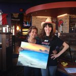 RT @saspainting: Electric Elaine and Hot Pink Holly are ready to paint! #keepcalmandpainton at boston pizza north #ptbo http://t.co/hbcLnHwuzF