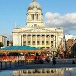 RT @melgregory1: What a beautiful sight... @HappyNottm #nottingham #OldMarketSquare http://t.co/D7qEAJTSdi