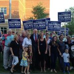 RT @warrentolman: Thrilled to have so many friends and family members here to support me at the #StonehillForum! #mapoli #maAG http://t.co/dsQINoJQZ4