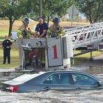 RT @lubbockonline: Lubbock fire crews rescued a man stranded in floodwater http://t.co/ebnGrjiomt http://t.co/jUJBIXudME
