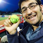 @jared_lossie caught a ball!! (Is that the right kind?) #seawolfselfie @erie_seawolves #prizes http://t.co/CI3mHepvXK