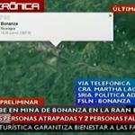 #UltimaHoraTN8 #Nicaragua #Bonanza Se escuchan personas con vida, policía y ejército trabajan para el rescate. http://t.co/5SaHMMaJie