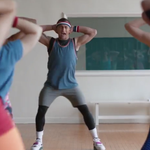 """RT @BleacherReport: VIDEO: Johnny Manziel, AKA """"Johnny JamBoogie"""", is an aerobics instructor in this Snickers ad http://t.co/USzYiDUxAy http://t.co/5r6kZocR72"""