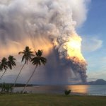 #Tavurvur this AM, #Rabaul district affected so far, @BurnetInstitute staff all ok, hoping all closer got out #PNG. http://t.co/5icUSLzEUQ