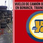 via @nuevaya: #ULTIMAHORA Vuelco de camión deja 4 fallecidos en Bonanza, Triangulo Miner... http://t.co/RE9lyYMeo3 http://t.co/cx73ujwaQa