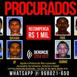 RT @g1: Oito suspeitos de estuprar e torturar jovem no RJ têm foto divulgada http://t.co/GFD8OgBox8 #G1 http://t.co/PREo9h5Roi
