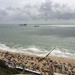 Setting up for day two - cloud looks a little dodgy but flying display team confident of full displays #bmthairfest http://t.co/46TKPkQJ5D