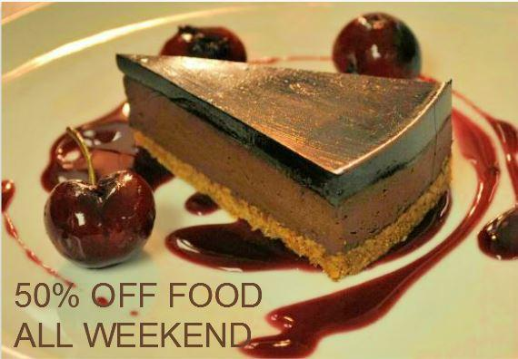 RT @ApexLondonWall Book for lunch/dinner this wkend & receive 50% off your food bill. Quote Facebook.T: 0207562 3060 http://t.co/3PqvC8HiKG