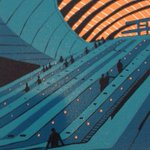 RT @SBPrintmakers: Jennie Ing is at the gallery today with her #London #linocuts. http://t.co/LAcu3HVAyR