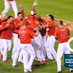 RT @Angels: #HaloRecap: With Kendricks sac fly #Walkoff, #Angels extend their division lead to 2 games over the As & 80 wins! http://t.co/KXIlMF5V7A