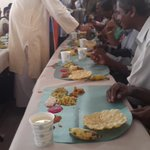 Serving Onam lunch to visually-challenged folks atKerala Federation of theBlind,Thiruvananthapuram. U can sponsor2! http://t.co/Xotfm4DZZ0
