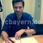 RT @Football__Tweet: Photo confirmation of Xabi Alonsos move to Bayern Munich. Hes joined for just €8m. #FCB http://t.co/QiL2ww8PY8