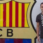 RT @EL_President_: - Welcome to Fc. Barcelona douglas #fcblive http://t.co/wsLtF76CMZ