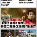 RT @JanAageFjortoft: Kagawa doing his medical at Dortmund today? 10 mill euro http://t.co/6qmKrj5dHA