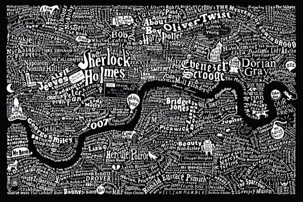 You have to love this! Literary map of London. Wonderful. http://t.co/qkmrrUNndp via @Emmsibo #FridayReads