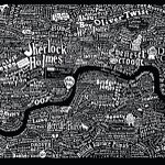 A literary map of London. http://t.co/uE952eKVg5