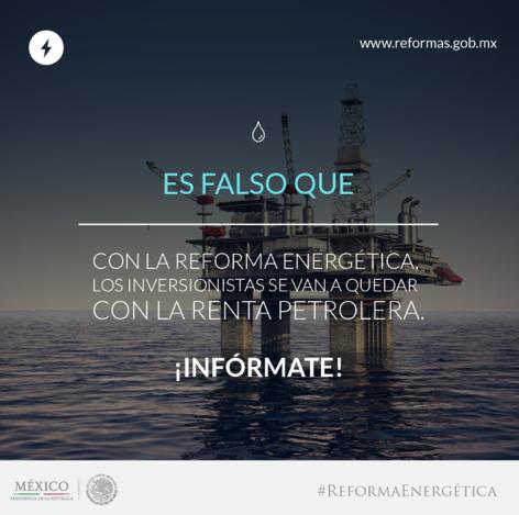 Conoce los Mitos de la #ReformaEnergética http://t.co/joJozhV5qV Infórmate y comparte. #ReformasEnAcción http://t.co/uizicSEuyV